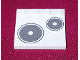 Part No: 6179pb007L  Name: Tile, Modified 4 x 4 with Studs on Edge with Stove Plate Left Pattern (Sticker) - Set 5895