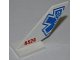 Part No: 6239pb037  Name: Tail Shuttle with Half EMT Star of Life and Red '4429' Pattern on Both Sides (Stickers) - Set 4429