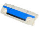 Part No: 62531pb017  Name: Technic, Panel Curved 11 x 3 with Blue and Black Panel Pattern (Sticker) - Set 42025