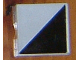Part No: 6309p03  Name: Duplo Tile 2 x 2 with Shape Black Right Triangle Pattern