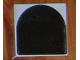 Part No: 6309p07  Name: Duplo Tile 2 x 2 with Shape Black Inverse Arch Pattern