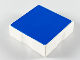 Part No: 6309p0g  Name: Duplo Tile 2 x 2 with Shape Blue Square Pattern