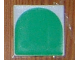 Part No: 6309p0r  Name: Duplo Tile 2 x 2 with Shape Green Inverse Arch Pattern