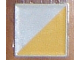 Part No: 6309p13  Name: Duplo Tile 2 x 2 with Shape Yellow Right Triangle Pattern