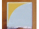 Part No: 6309p15  Name: Duplo Tile 2 x 2 with Shape Yellow Inverse Quarter Disc Pattern Pattern