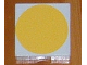 Part No: 6309p16  Name: Duplo Tile 2 x 2 with Shape Yellow Disc Pattern
