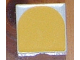 Part No: 6309p17  Name: Duplo Tile 2 x 2 with Shape Yellow Inverse Arch Pattern