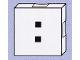Part No: 6309pb016  Name: Duplo Tile 2 x 2 with Colon ( : ) Pattern