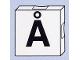 Part No: 6309pb091  Name: Duplo Tile 2 x 2 with Capital Å Pattern