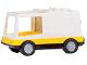 Part No: 6416c02  Name: Duplo Van Type 1 with Yellow Base