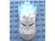 Part No: 64260pb01  Name: Bionicle Mask Strakk With Marbled Trans-Light Blue Pattern (Glatorian)