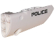 Part No: 64391pb002  Name: Technic, Panel Fairing # 4 Small Smooth Long, Side B with 'POLICE' Pattern (Sticker) - Set 5974