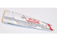 Part No: 64681pb026  Name: Technic, Panel Fairing # 5 Long Smooth, Side A with Red '31313' and Light Bluish Gray and Red Stripes Pattern (Sticker) - Set 31313
