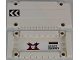 Part No: 64782pb014L  Name: Technic, Panel Plate 5 x 11 x 1 with Chevrons on Outside Left and World Racers Team Extreme Logo and 'CROZZ COUNTRY' on Inside Pattern (Sticker) - Set 8864