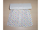 Part No: 6483pb02  Name: Duplo Furniture Curtain Plate 2 x 6 with White Cloth Curtains with Red, Blue and Yellow Dots
