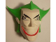 Part No: 70454c01pb01  Name: Large Figure Head Modified Super Heroes The Joker Pattern