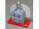 Part No: 85351pb01  Name: Duplo, Train Thomas & Friends Face, Stanley Pattern