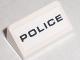 Part No: 85984pb001  Name: Slope 30 1 x 2 x 2/3 with Black 'POLICE' Pattern (Sticker) - Set 8211