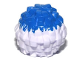 Part No: 87997pb01  Name: Minifigure, Utensil Cheerleader Pom Pom with Blue Top Pattern