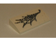 Part No: 88930pb097  Name: Slope, Curved 2 x 4 x 2/3 No Studs with Bottom Tubes with Spider Web Pattern (Sticker) - Set 76083