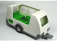 Part No: 89198c01  Name: Duplo Camper Trailer with Bright Green Interior and Dark Bluish Gray Base