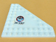 Part No: 92584pb001R  Name: Wedge, Plate 10 x 10 Cut Corner with no Studs in Center with Space Center Logo and 'JM 3367' Pattern Model Right Side (Sticker) - Set 3367