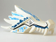 Part No: 93070pb05  Name: Dragon Head (Ninjago) Upper Jaw with Medium Blue and Dark Blue Sections and Ice Spirit Pattern