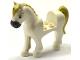 Part No: 93083c01pb12  Name: Horse with 2 x 2 Cutout, Dark Bluish Gray Nose, Brown Eyes, Tan Eyebrows, Mane and Tail Pattern