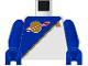 Part No: 973p6cc01  Name: Torso Space Futuron Blue Pattern / Blue Arms / Blue Hands