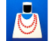 Part No: 973p71  Name: Torso Necklace Red and Blue Undershirt Pattern