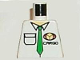 Part No: 973pb0238  Name: Torso Cargo Logo with Green Tie Pattern