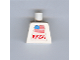 Part No: 973pb0364  Name: Torso NASA and Flag Pattern (Sticker)
