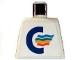Part No: 973pb0430  Name: Torso Color Line Logo Pattern (Sticker)