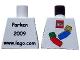 Part No: 973pb0507  Name: Torso LEGO World Denmark 2009 Pattern