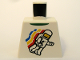 Part No: 973pb0549  Name: Torso Classic Space Minifigure Floating Pattern