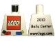 Part No: 973pb0641  Name: Torso LEGO World Denmark 2010 Pattern
