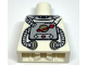 Part No: 973pb0669  Name: Torso Space with Classic Space Logo and Tubes Pattern
