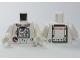 Part No: 973pb0703c01  Name: Torso Shuttle Adventure Logo and Equipment with 'AEJ-S81' Front and Back Pattern / White Arms / White Hands