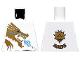 Part No: 973pb0831  Name: Torso Ninjago Gold Dragon Front and Gold Lion and 'ZANE' Back Pattern