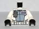 Part No: 973pb1051c01  Name: Torso SW Armor ARC Trooper (Clone Wars) Pattern / White Arms / Black Hands