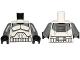 Part No: 973pb1564c01  Name: Torso SW Armor Clone Trooper with Dark Bluish Gray Markings Pattern / Dark Bluish Gray Arms / Black Hands