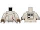Part No: 973pb3345c01  Name: Torso SW Armor Range Trooper Pattern / White Arms / Dark Tan Hands