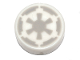 Part No: 98138pb086  Name: Tile, Round 1 x 1 with SW Light Bluish Gray Imperial Logo Pattern