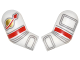 Part No: 981982pb068  Name: Arm, (Matching Left and Right) Pair with Astronaut Spacesuit Pattern