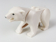 Part No: 98295c01pb01  Name: Polar Bear with 2 Studs on Back and Black Eyes and Nose Pattern