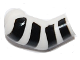 Part No: 982pb004  Name: Arm, Right with 4 Black Stripes Pattern