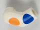 Part No: 982pb143  Name: Arm, Right with Large Orange and Blue Polka Dots Pattern