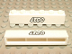 Part No: crssprt02pb18  Name: Brick 1 x 6 without Bottom Tubes with Cross Side Supports with Lego Logo Open O Style Black Outline Pattern