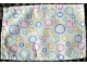 Part No: dupcloth05  Name: Duplo Cloth Curtain with Multi-Colored Circles Pattern