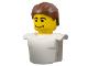 Part No: mcsport1  Name: Sports Promo Figure Head Torso Assembly McDonald's Set 1 (7923)